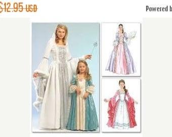 Princess Sewing Pattern Costume Misses Sizes S-M-L-Xl--Uncut Pattern--Gorgeous