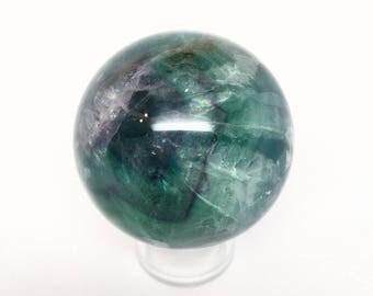 """2.5"""" Flourite sphere"""