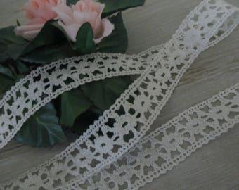 2 Yards Vintage Lace Trim Cotton