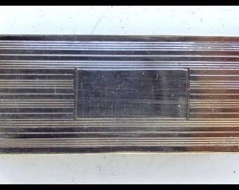 Vintage Sterling Money Clip or Credit Card Holder Never Engrave Free Shipping