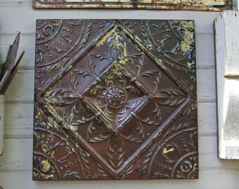 Framed Metal Wall Art rustic metal frame | etsy