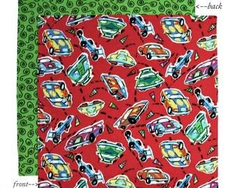 Kids Napkin, 12 inch Cloth Lunch Box Napkin, School Lunchbox Napkin Boys, 1 double sided fabric napkin