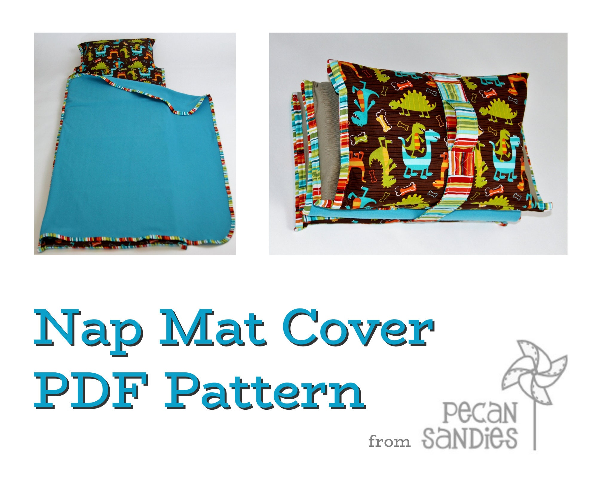Nap Mat Cover Pdf Pattern Sewing Tutorial For Kindermat