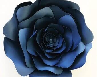 ON SALE Paper flower template, DIY paper flower pattern, paper flower templates pattern, Paper flower tutorial, paper flower backdrop,