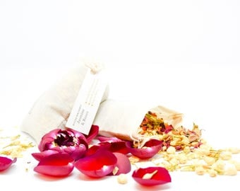 Jasmine And Roses Aromatherapy Pure Essential Oil Preservative Jasmine Roses Petals Sachet