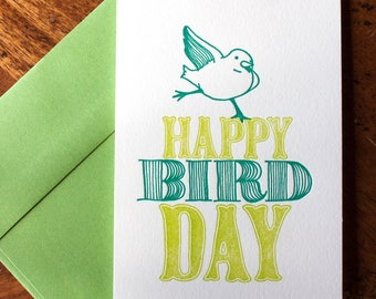 Happy Birdday - Card