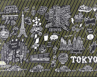 Tokyo weeks clear cover on cover hobonichi
