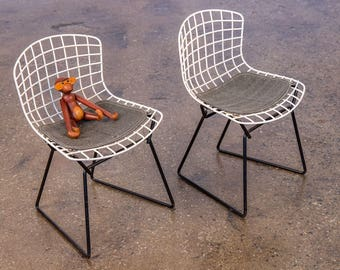 Pair of Baby Harry Bertoia Chairs for Knoll