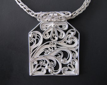 Breeze 935 Argentium Sterling Silver Necklace