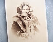 CDV Carte de Visite - Lucy Ann Barrett of Boston