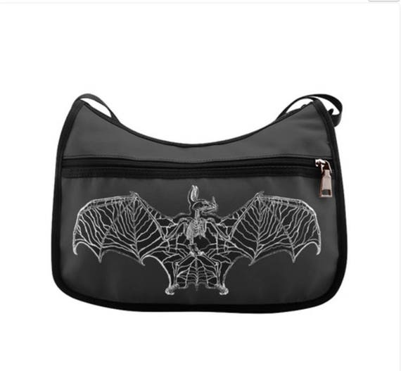 Bat Bones Hobo Bag