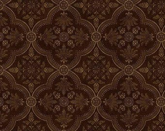 QT19461 Medallion Diamond Damask Wallpaper