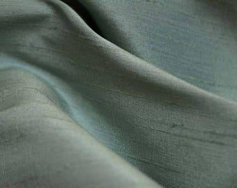 REMNANT Aviana Aqua Silkcraft Fabric  54 inches x 3.75 yards