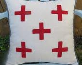 Red Cross Pillow