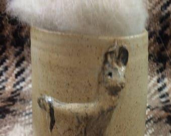 Llama roving white #2