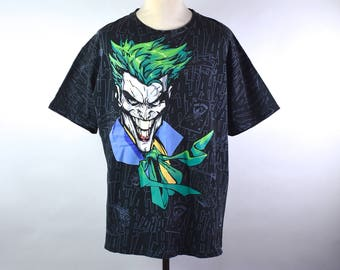 The Joker T-shirt - DC Comics - The Dark Knight - Excellent Condition