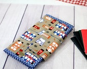 London Family Passport Holder, Passport organizer, Travel Wallet, Passport Wallet, moving away gift dual citizenship