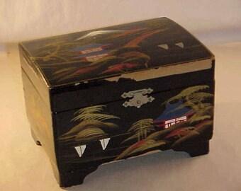 Japan Music Box Jewelry Box