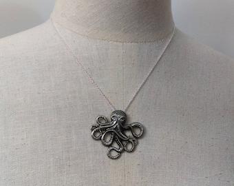 Deep Dweller - Pendant Necklace - 16 in