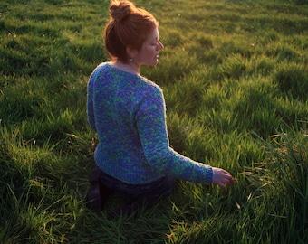 Top of the morning ~ knitting kit ~ Linen Cotton summer top for women