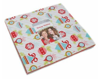 Vintage Holiday Layer Cake by Bonnie & Camille for Moda Fabrics