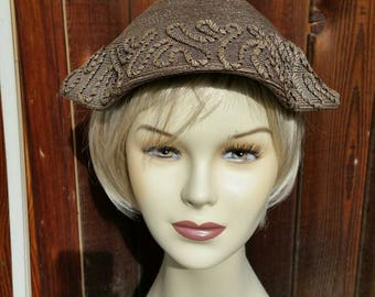 1930 to 40s woven hat