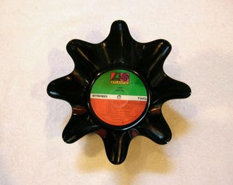 ABBA Repurposed Record Bowl Made From Vinyl Album