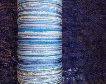 New! 2017 Fall Saori silk ready made warps - - 200 threads x 6 meters - lovely pale blue!