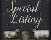Special Listing for Leslie