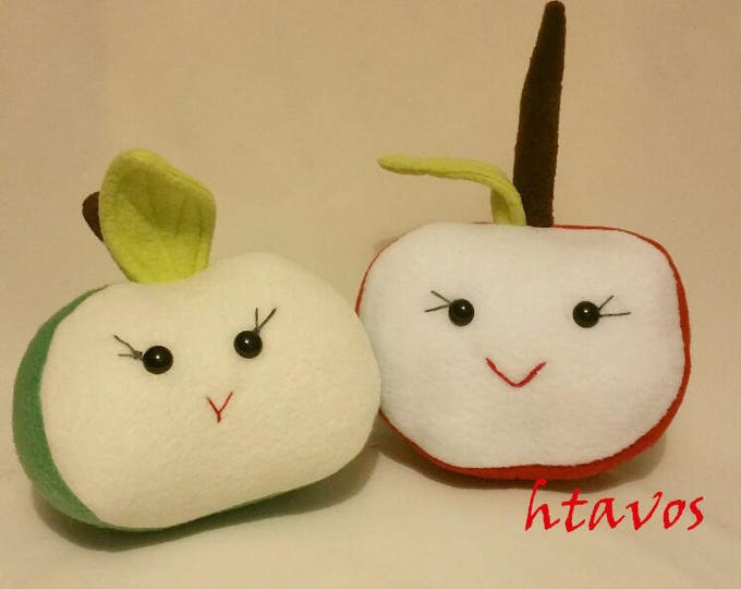Apple Slice Plush