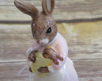 Royal Doulton 1996 Mother and Baby Bunnykins Bunny Figurine Great Mothersday Gift or for baby