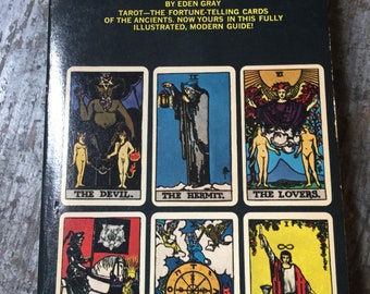 1969 The Tarot Revealed Book by Eden Gray