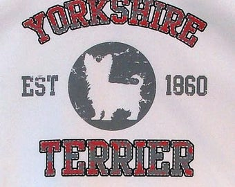 Womens TANK TOP Yorkshire Terrier Dog Choose Size and Color 17440