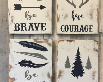 Woodland Nursery Decor / Woodland Decor / Rustic Nursery Decor / Nursery Decor