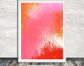 Candy water print III, abstract printable wall art, poster, printable art, Instant Digital Download