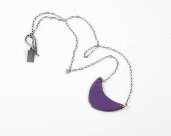 Colorful Helen Rectangle Enamel Pendant Necklace
