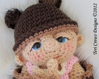 Summer Sale Baby Doll Crochet Pattern by Teri Crews PDF format Instant Download