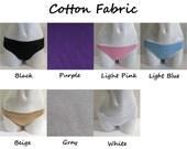 LeoLines (TM) Hidden Stitching COTTON Solid Color Transgender Panties Underwear M2F mtf - Child to Adult Sizes