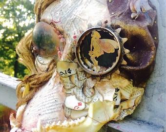 """Steampunk Mask- """"Lady M."""""""
