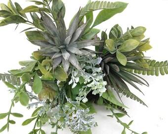 Succulent, Wedding succulents, bouquet, succulent arrangement, gray succulent, fake succulent, faux succulent, gray succulent, centerpiece