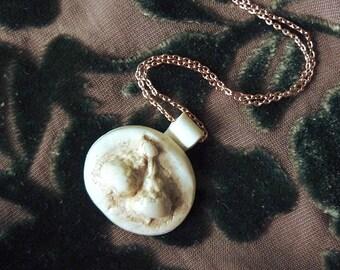 Acorn Handmade Polymer Clay Necklace