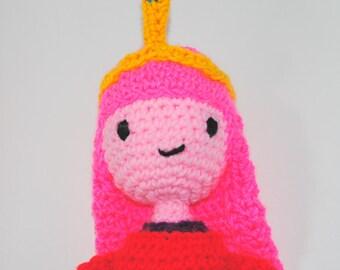 Princess Bubblegum inspired amigurumi: Adventure time