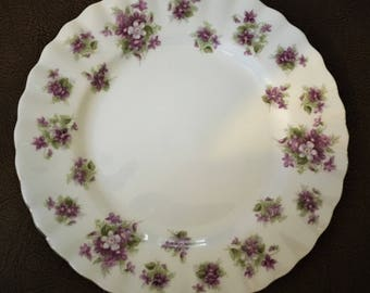 Royal Albert Sweet Violets Bread and Butter Plate