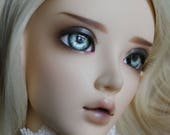 BJD eyes Doll eyes Hand Made available in 12/14/16/18/20/22/24mm Siberian Silver  made to order