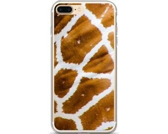 Giraffe Print Phone Case African Inspired Animal Print iPhone 8 Case Giraffe Phone Case iPhone SE Case iPhone 5s Case Animal Lover Gift