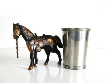Vintage Olde Kentucky Pewter Mint Julep Cup / Boardman Silversmiths