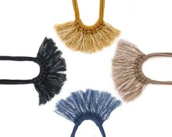Saguaro Fringe Necklace