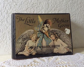 The Little Mother Goose, Illustrated by Jesse Wilcox Smith, 1918 in Very Good Condition