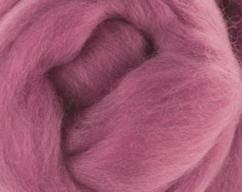 Superfine Merino Wool Top - 19 micron - Orchid - 4 ounces