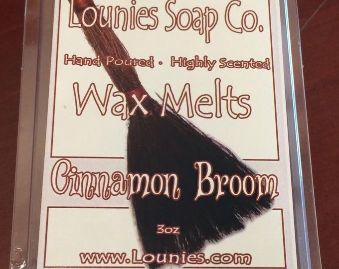 Cinnamon Broom Wax Melt 3oz